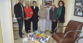 CDL-BG Entrega Doações Ao Lar Do Ancião