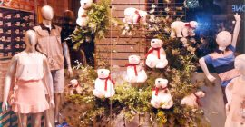 CDL-BG Promove Painel Temático Destacando Vitrines Para O Natal