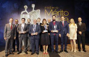 Vencedores da trigésima edição do Mérito Lojista