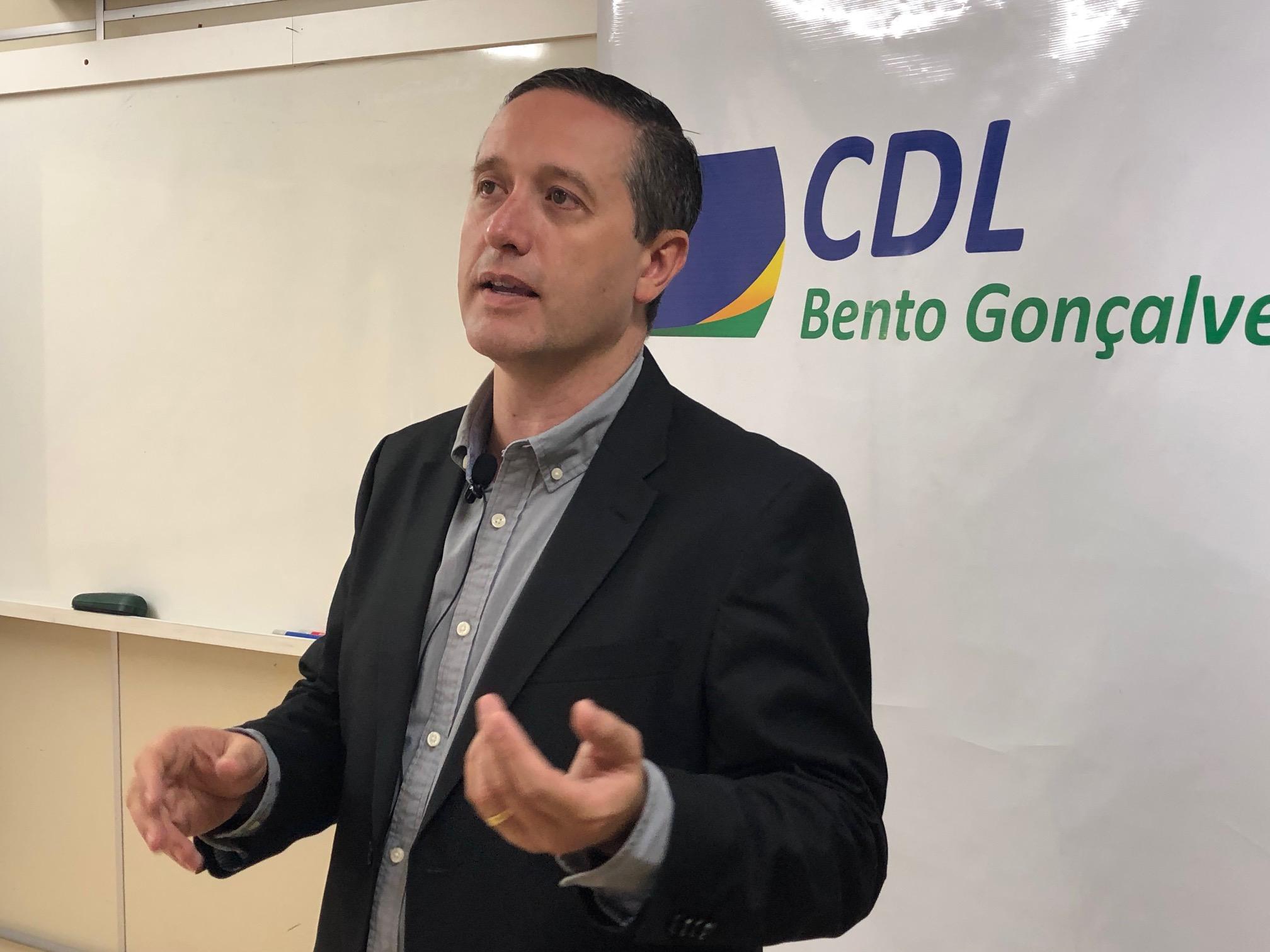 Marcos Carbone, Presidente Da CDL BG – Crédito Exata Comunicação