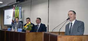 Presidente da CDL-BG, Marcos Carbone