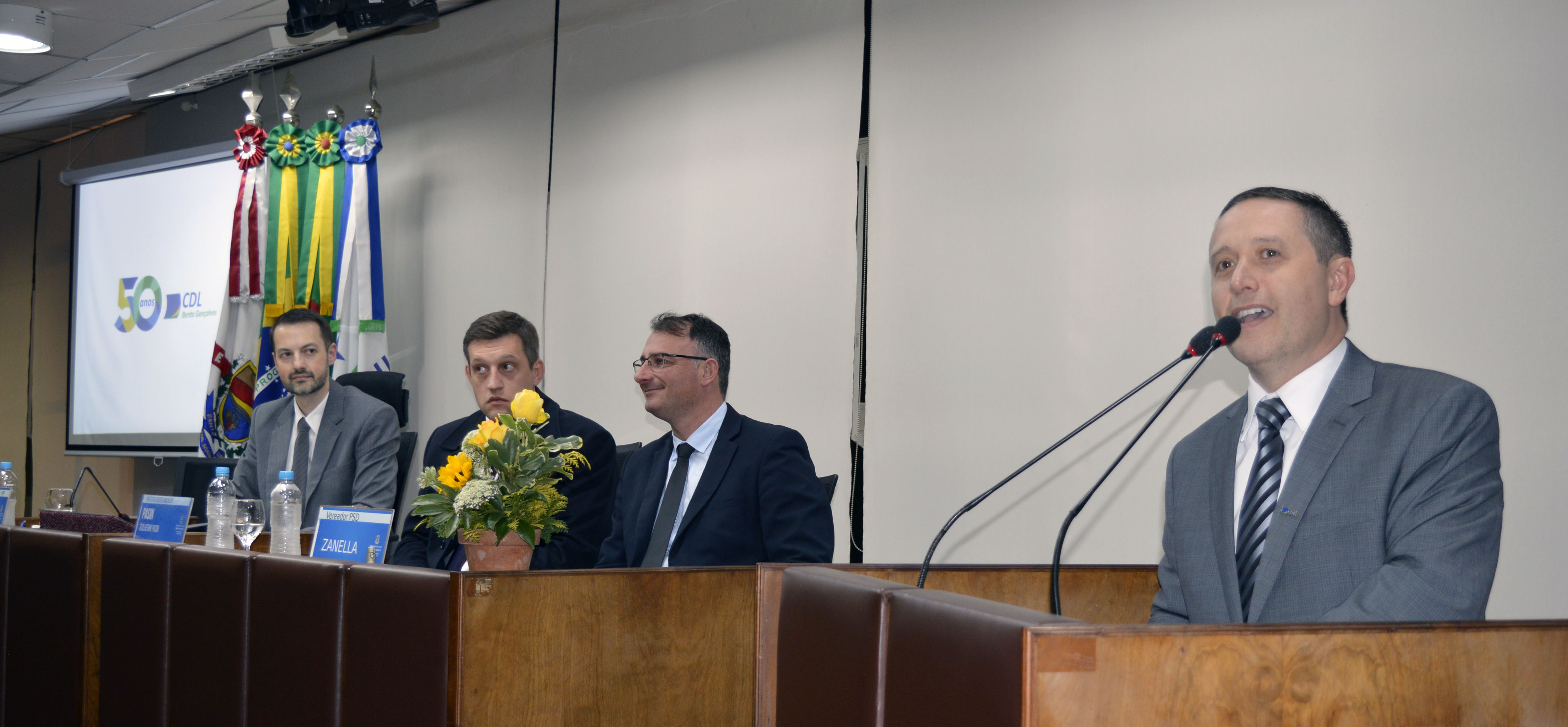 Presidente Da CDL BG, Marcos Carbone