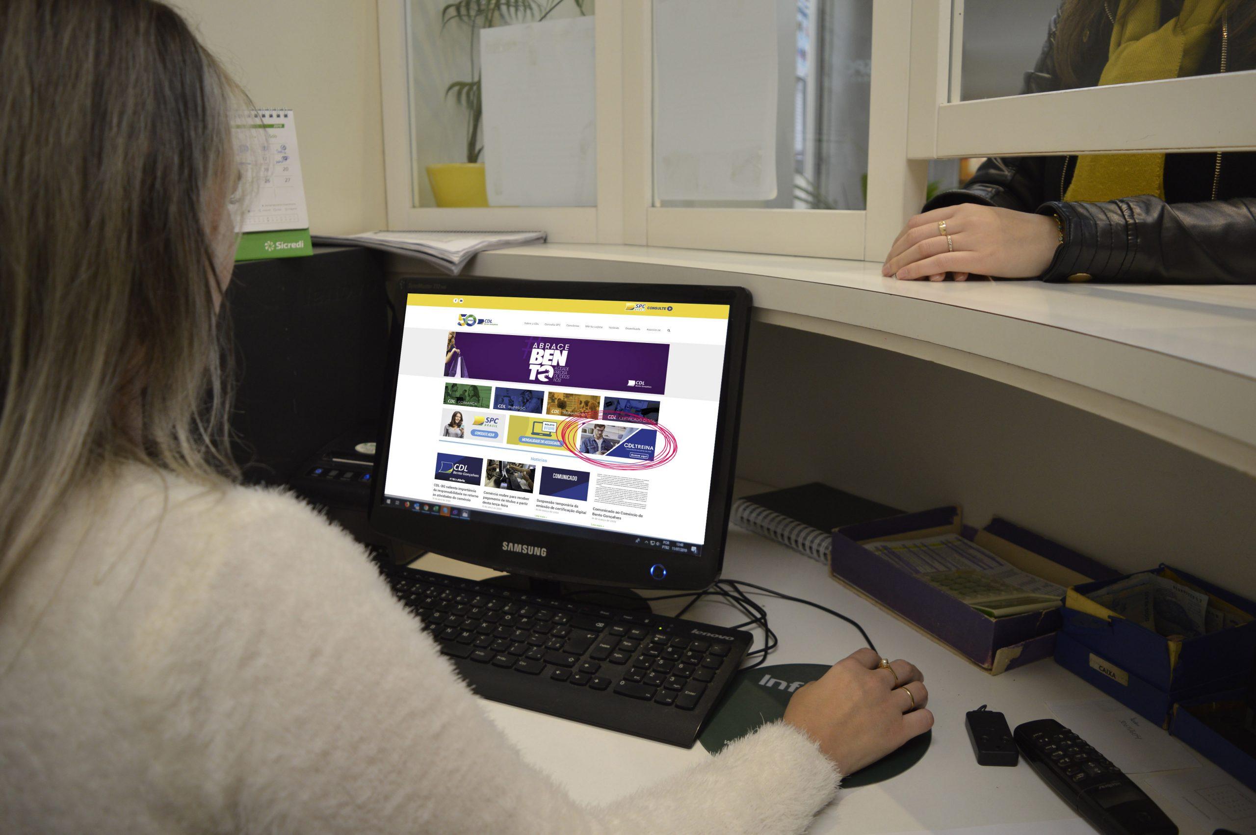 CDL BG Oferece Plataforma Digital Gratuita Para Qualificação Do Comércio