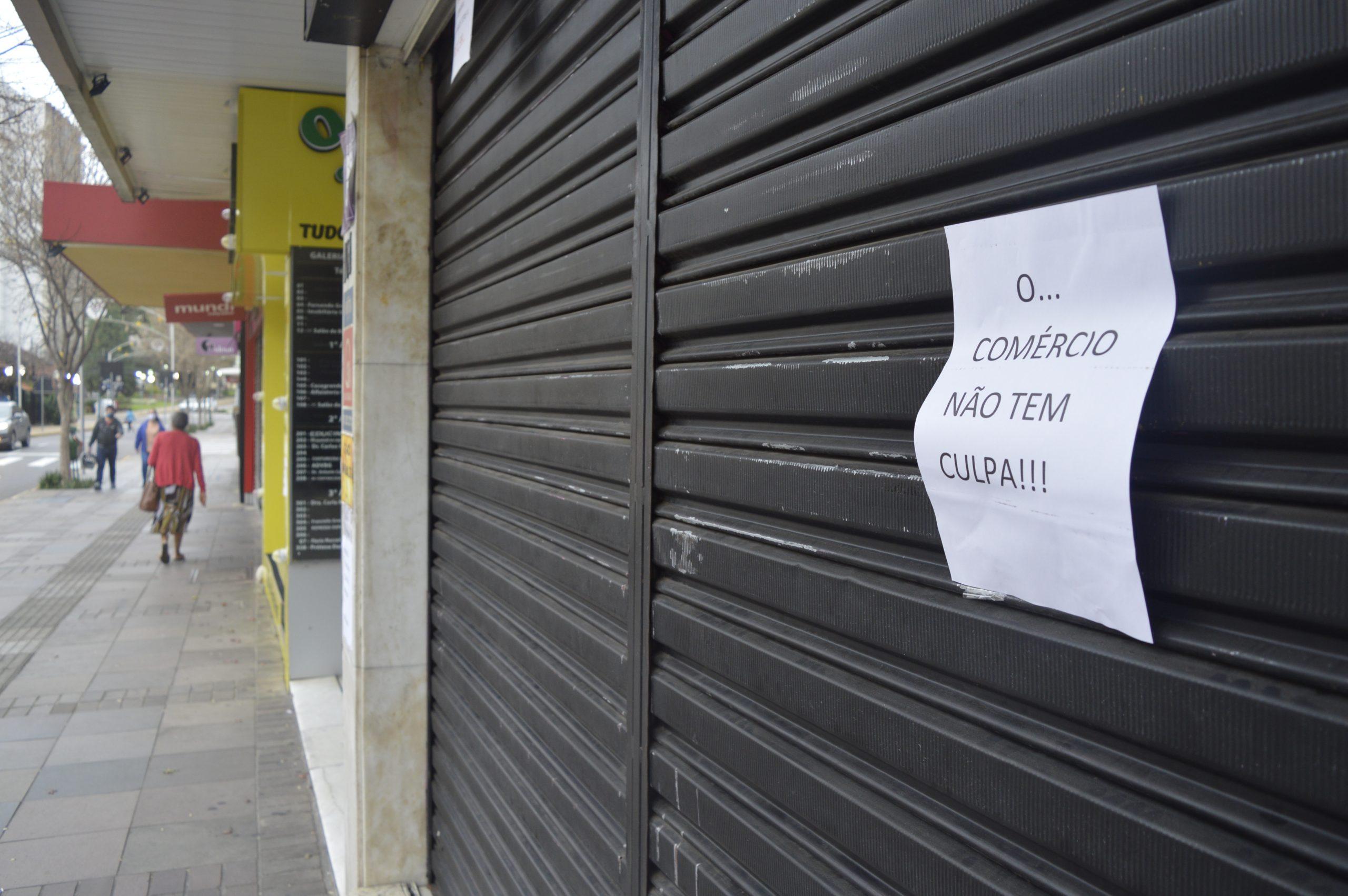 Comércio De Bento Gonçalves Fechado Devido Ao Novo Decreto Estadual – Crédito Exata Comunicação (3)